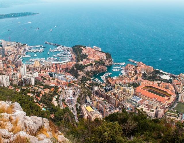 Monaco uitzicht