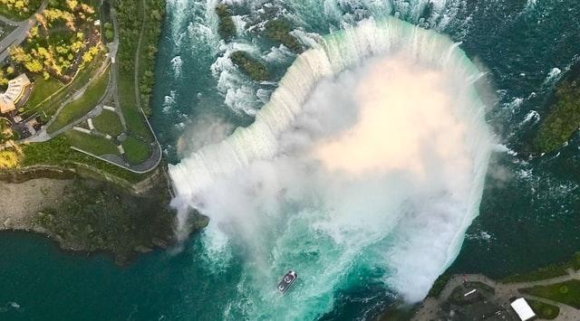 Niagara Falls van boven af